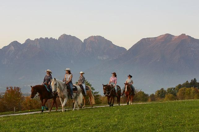 Col Visentin a cavallo - Pro Loco Fregona