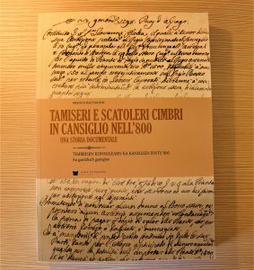 Libro - Tamisieri e Scatoleri Cimbri in Cansiglio nell'800 - Pro Loco Fregona