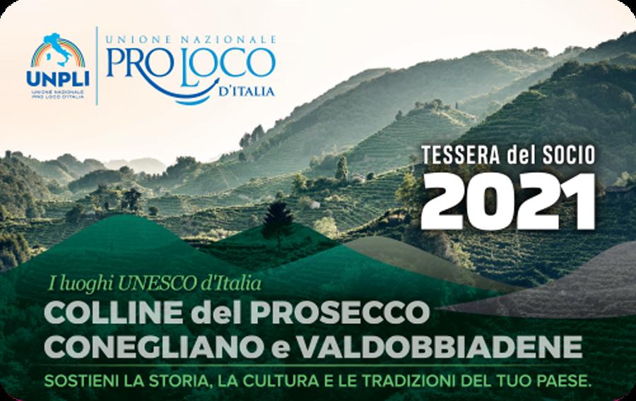 Tessera Socio 2021 - Pro Loco Fregona